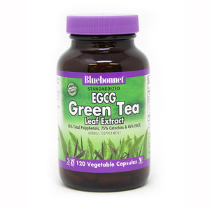 STANDARDIZED EGCG GREEN TEA LEAF EXTRACT 120 VEGETABLE CAPSULES