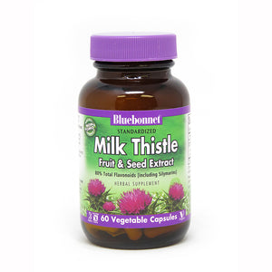 STANDARDIZED MILK THISTLE FRUIT & SEED EXTRACT 60 VEGETABLE CAPSULES