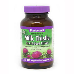 STANDARDIZED MILK THISTLE FRUIT & SEED EXTRACT 120 VEGETABLE CAPSULES