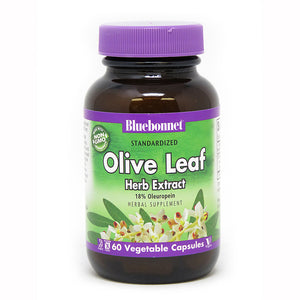 STANDARDIZED OLIVE LEAF HERB EXTRACT 60 VEGETABLE CAPSULES
