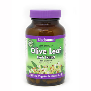STANDARDIZED OLIVE LEAF HERB EXTRACT 120 VEGETABLE CAPSULES