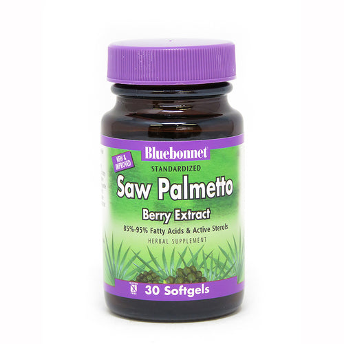 STANDARDIZED SAW PALMETTO BERRY EXTRACT 30 SOFTGELS