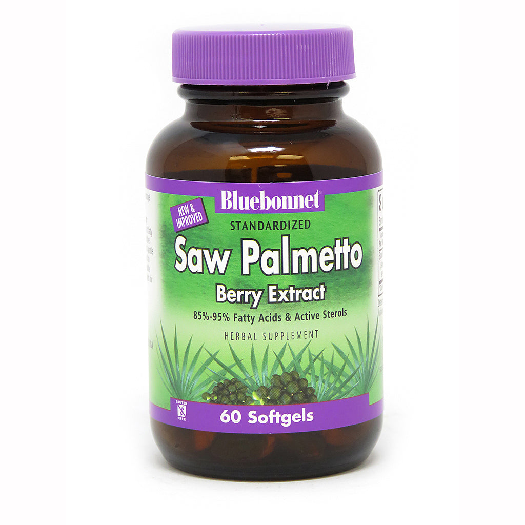 STANDARDIZED SAW PALMETTO BERRY EXTRACT 60 SOFTGELS
