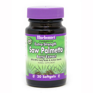 STANDARDIZED EXTRA-STRENGTH SAW PALMETTO BERRY EXTRACT 30 SOFTGELS