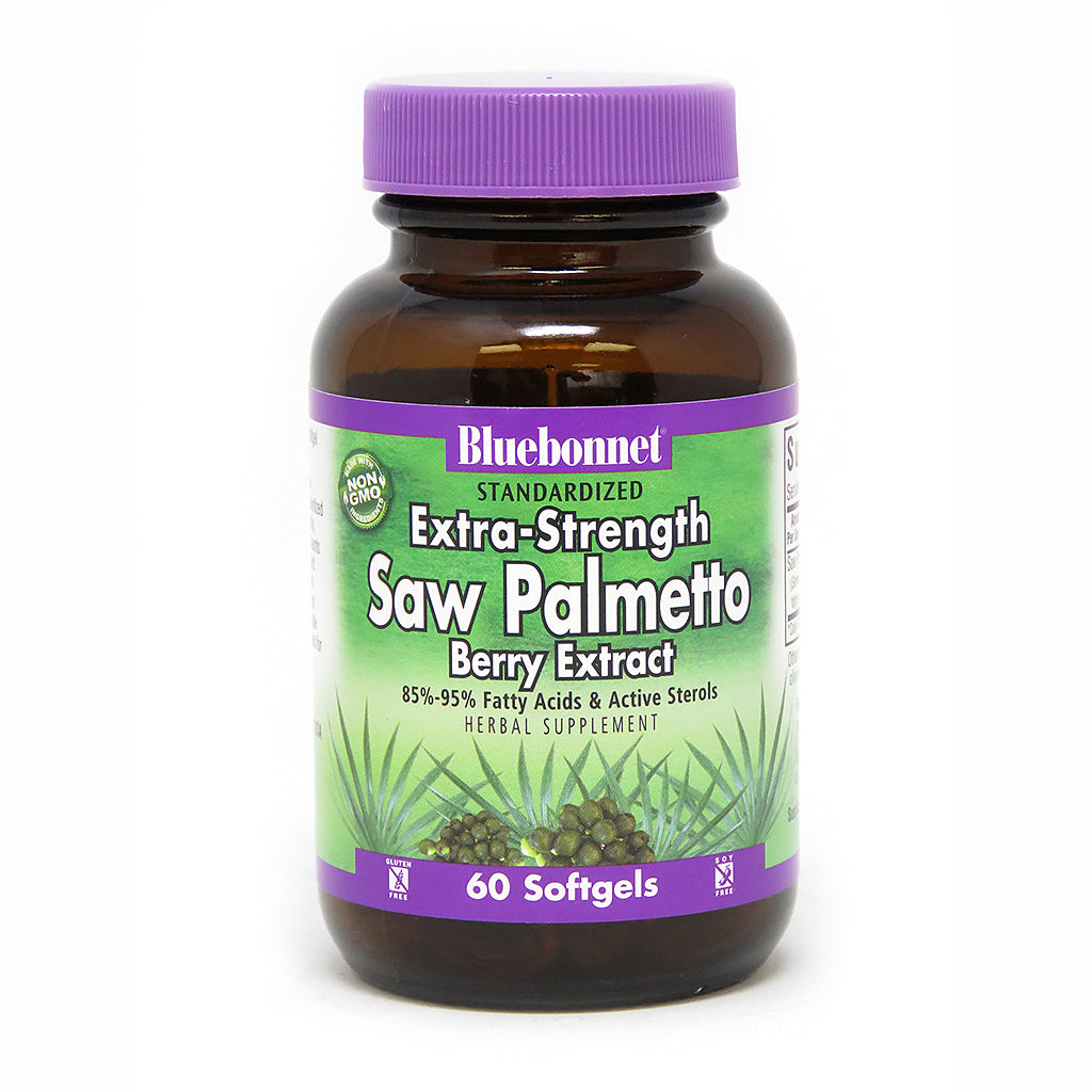 STANDARDIZED EXTRA-STRENGTH SAW PALMETTO BERRY EXTRACT 60 SOFTGELS