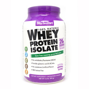 WHEY PROTEIN ISOLATE POWDER ORIGINAL FLAVOR 2.2 lb