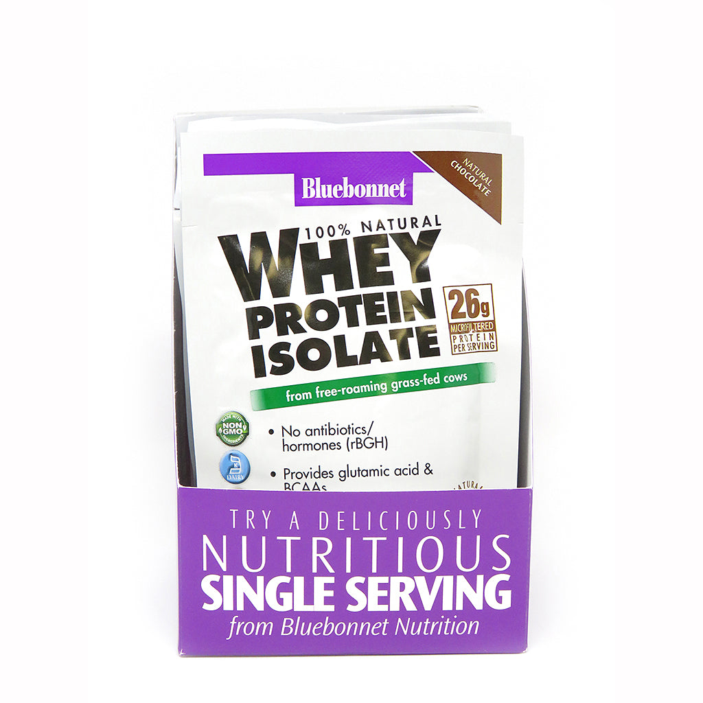 WHEY PROTEIN ISOLATE POWDER CHOCOLATE FLAVOR 8 Pk