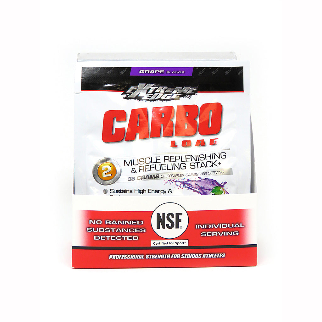 EXTREME EDGE® CARBO LOAD POWDER GRAPE FLAVOR 7 Pk