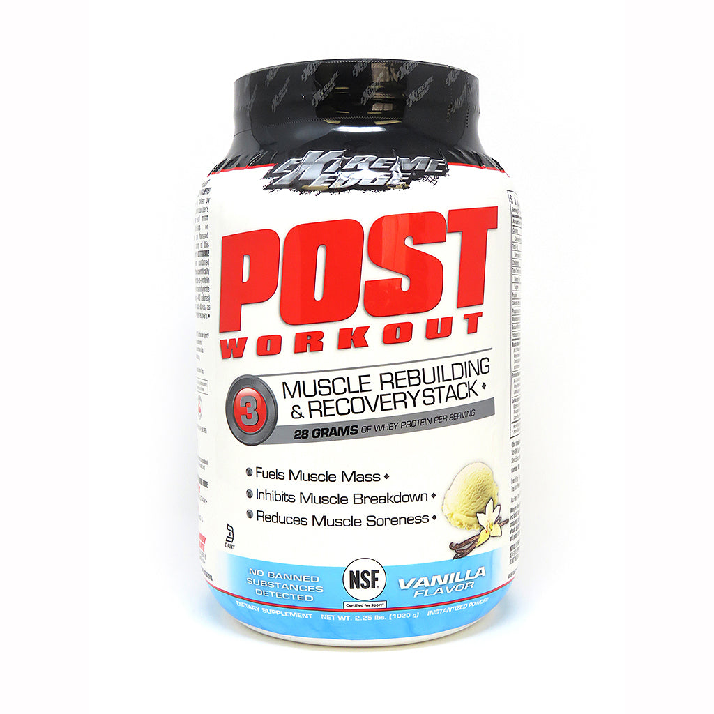 EXTREME EDGE® POST WORKOUT POWDER VANILLA FLAVOR 2.25 lb