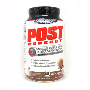 EXTREME EDGE® POST WORKOUT POWDER CHOCOLATE FLAVOR 2.25 lb