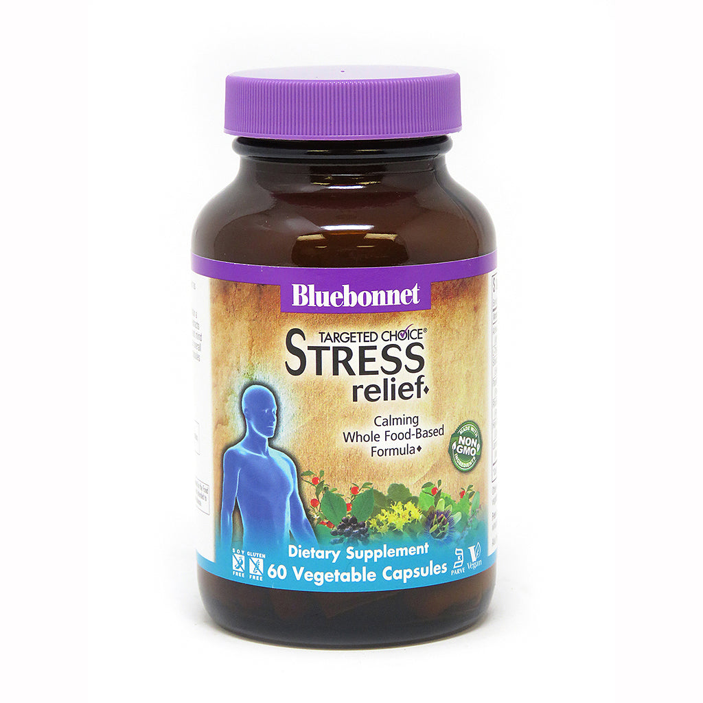 TARGETED CHOICE STRESS RELIEF® 60 VEGETABLE CAPSULES