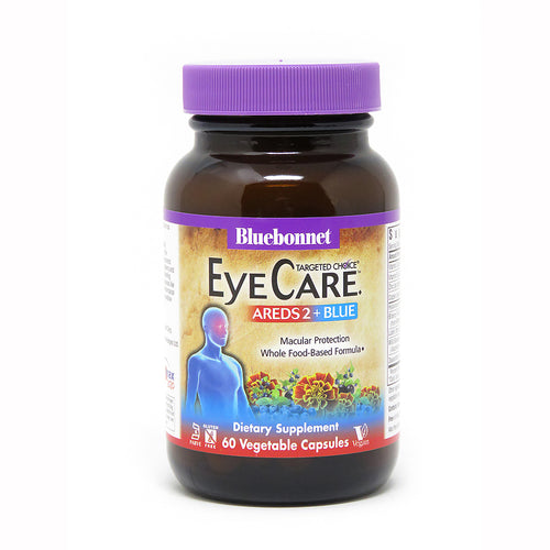 TARGETED CHOICE® EYE CARE™ AREDS2 + BLUE 60 VEGETABLE CAPSULES