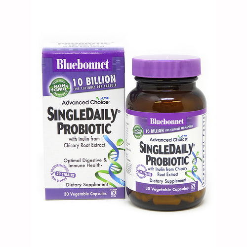 ADVANCED CHOICE® SINGLE DAILY® PROBIOTIC 10 BILLION 30 VEGETABLE CAPSULES
