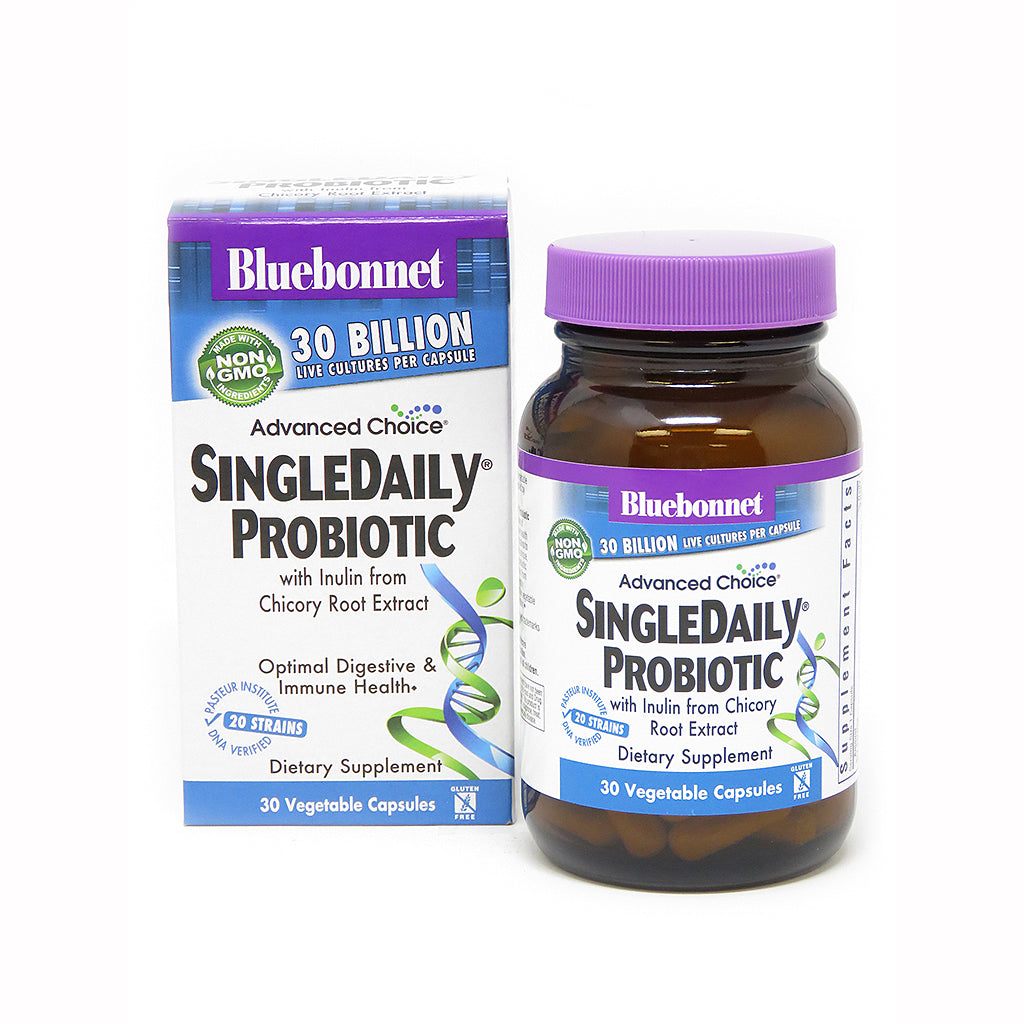 ADVANCED CHOICE® SINGLE DAILY® PROBIOTIC 30 BILLION 30 VEGETABLE CAPSULES