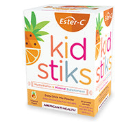 Ester-C® 250 mg Kidstiks, Powder Sticks – Tropical Punch, 6.5g Pkt^^