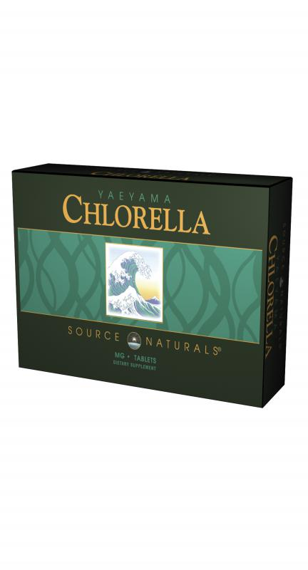 Yaeyama Chlorella 200 mg, Box