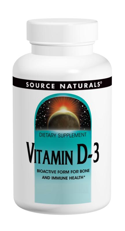 Vitamin D-3 5000 IU 60+60 Bonus Bottle