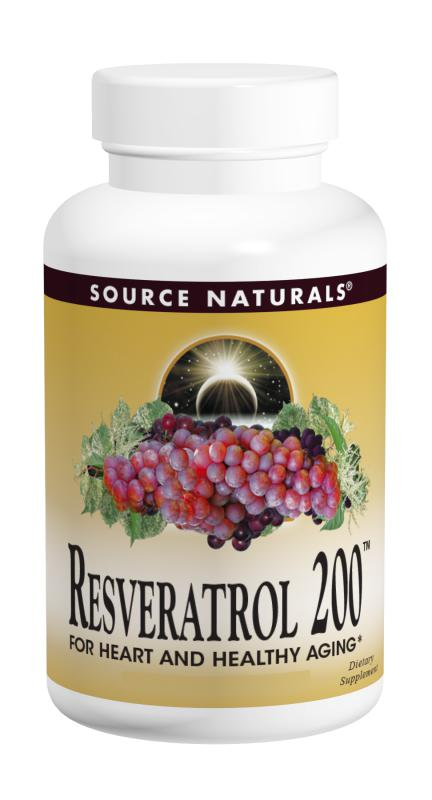 Resveratrol 200™ 200 mg 30+30 Bonus Bottle