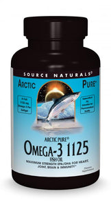 ArcticPure® Omega-3 1125 Enteric Coated Fish Oil 30+30 bonus bottle