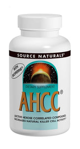 AHCC® with BioPerine® 500 mg 30+30 Bonus Bottle