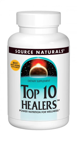 Top 10 Healers™ 30 Tablet Counter Display