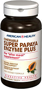 Super Papaya Enzyme Plus Chewable Tablets
