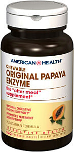 Original Papaya Enzyme Chewable Tablets^