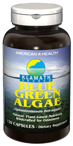 Klamath Shores®  Blue Green Algae 500 mg Capsules