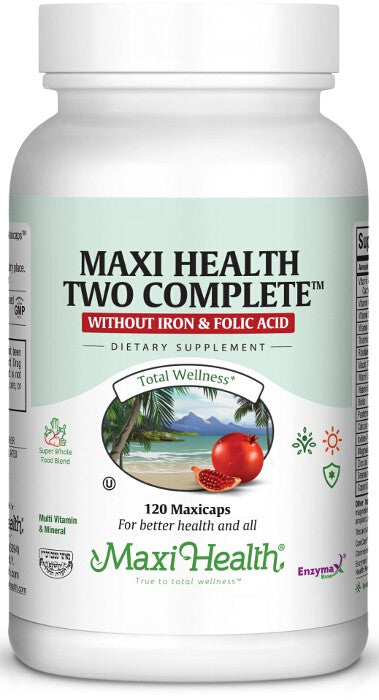 Maxi Health Two Complete™ Without Iron