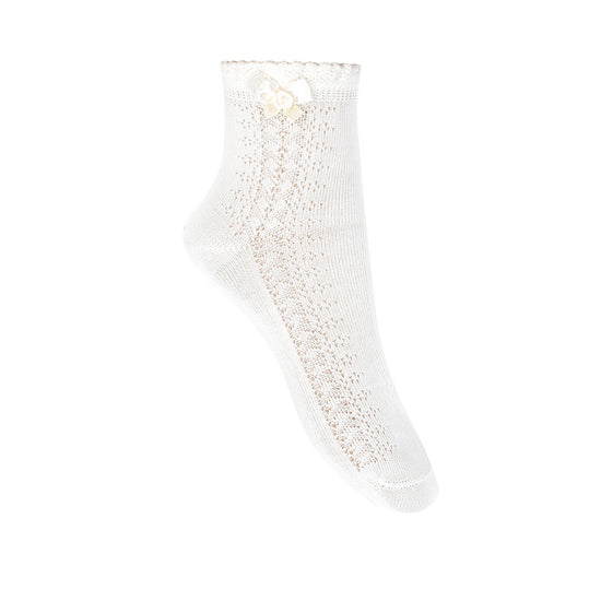 ceremony socks <br> white