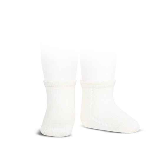 short socks <br> white