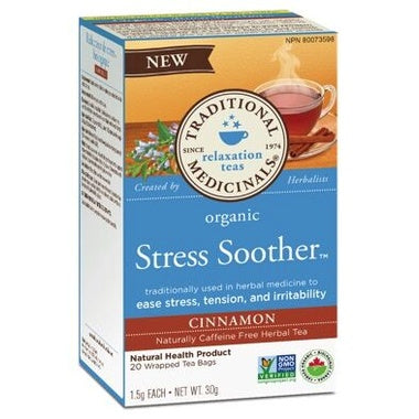 Traditional Medicinals Stress Soother Tea 20 Bags