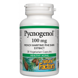 Natural Factors Pycnogenol 100mg 30 v Caps