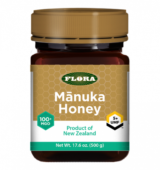Flora Manuka Honey MGO 100+/UMF 5+ 500g