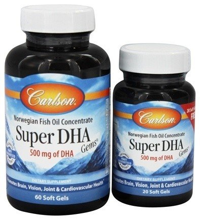 Super DHA 60+20 Softgels