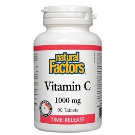 Natural Factors Vitamin C Time Release 1000mg 90 Tabs