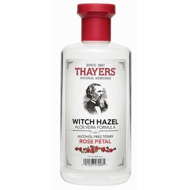 Thayers Witch Hazel Toner Rose Petal Alcohol Free 355ml