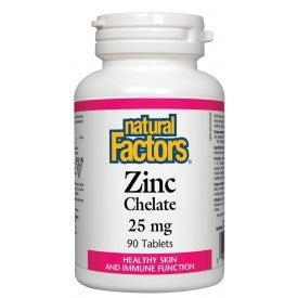 Zinc Chelate 25mg 90 Tabs