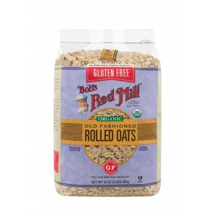 Organic Old Fashioned Rolled Oats Gluten Free 907g