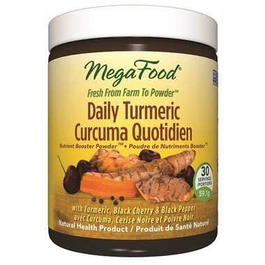 MegaFood Daily Tumeric 30 Servings