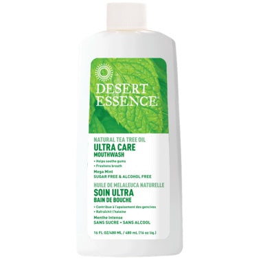 Mouthwash Tea Tree Ultra Care 480ml