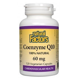 Natural Factors Coenzyme Q10 60mg 120 VCapsules
