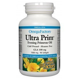 Ultra Prim Evening Primrose Oil 1000mg 90 Softgels