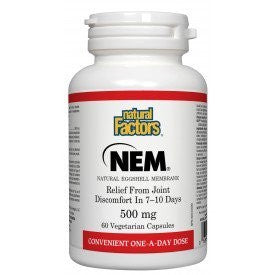 NEM Natural Eggshell Membrane 500mg 60 Caps