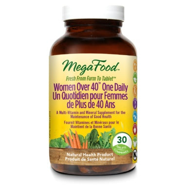 MegaFood Women Over 40 One Daily 30 Tablets