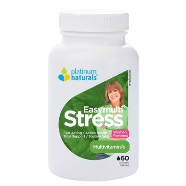 Platinum Easymulti Stress Women 60 Softgels