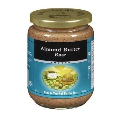 Almond Butter Raw Smooth 365g
