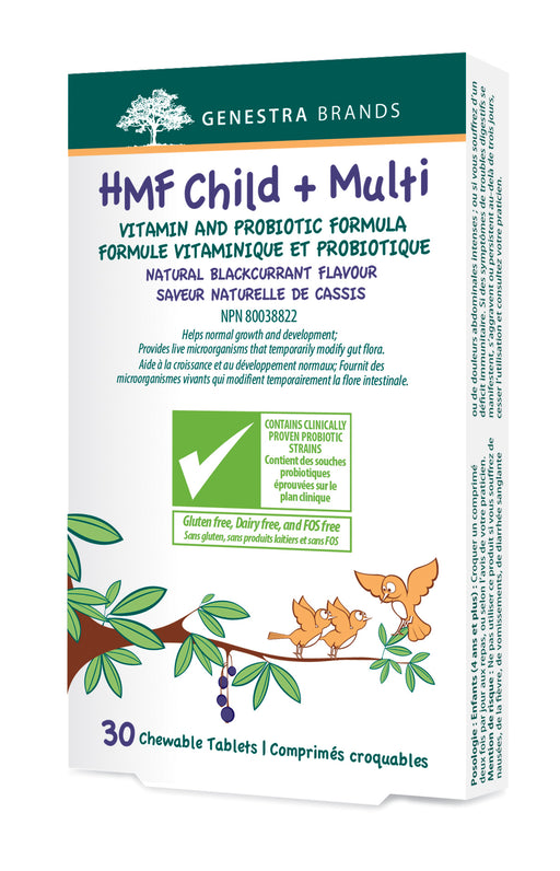 Genestra HMF Child + Multi 30 Chewable Tablets