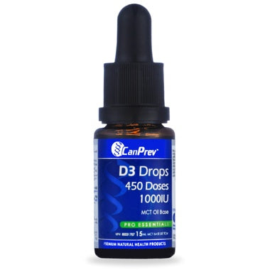 CanPrev D3 Drops 1000IU 15ml