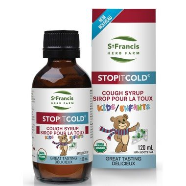 Stop It Cold Cough Syrup Kids 120ml